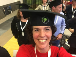 Elise Vonk na afsluiting Sustainable MBA in One Day